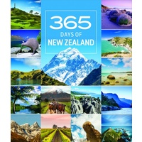 365 Days in New Zealand 2019 Deluxe Wall Calendar NEW by Browntrout