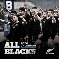 All Blacks 2020 Square Wall Calendar by Browntrout SOLD OUT