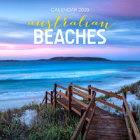 Australian Beaches 2020 Square Wall Calendar by Browntrout