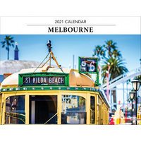 2021 Calendar Melbourne Horizontal Wall by Browntrout A09716