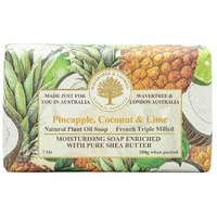 Wavertree & London Soap Bars - Pineapple, Coconut & Lime