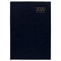 2020 Milford Windsor Diary A5 Day to Page Black 441009