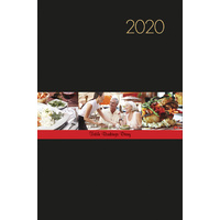 2020 Milford Table Bookings Diary A4 Black 441039