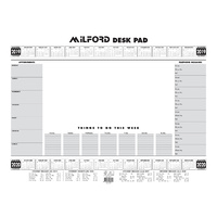 Planner 2019/2020 Milford Executive Deskpad A2 441071 includes Postage