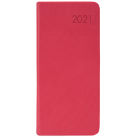 2021 Diary Milford Rhapsody Slim Week to View Red 441343