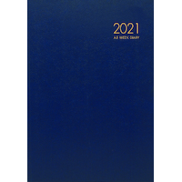 2021 Diary Milford Windsor A5 Week to View Navy 441433