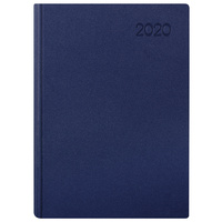 2020 Milford Premium PVC Diary A5 Day to Page Navy 441601