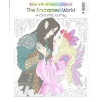 Relax with Art Holiday Special: The Enchanted World Issue 32 Colouring Magazine