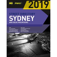 2019 Sydney & Blue Mountains Street Directory 55th Ed by UBD Gregorys