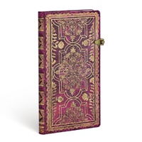 Amaranth Slim Lined with Clasp Journal By Paperblanks