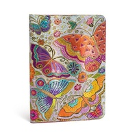 Diary 2019 Paperblanks Flutterbyes Midi VERTICAL WTV 13x18cm incl. P&H