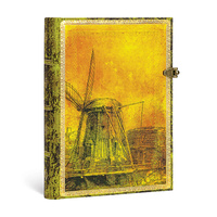 Special Editions Rembrandt 350th Anniversary Midi Unlined Journal By Paperblanks