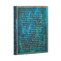 2021 Diary Verne, Twenty Thousand Leagues Flexi Ultra Day to Page by Paperblanks