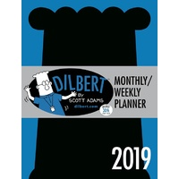 2019 Diary Dilbert Monthly/Weekly Planner by Andrews McMeel Publishing