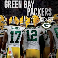 2020 Green Bay Packers Team Square Wall Calendar by Lang Companies
