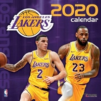 2020 Los Angeles Lakers Team Square Wall Calendar by Lang Companies