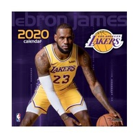 Lebron James 2020 Square Wall Calendar by Lang Companies