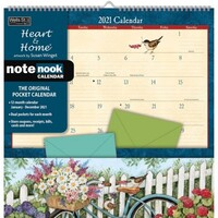 2021 Calendar Heart & Home Note Nook by Lang L15437