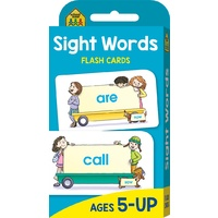 School Zone Flash Cards - Sight Words by Hinkler Books NEW Free Shipping!