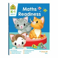 School Zone Maths Readiness (Ages 5-7) by Hinkler Books NEW Free Shipping!