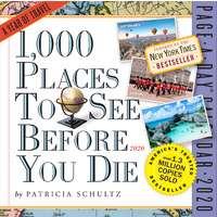 1,000 Places to See Before You Die 2020 Boxed Calendar by Workman