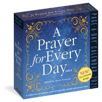 2021 Calendar A Prayer for Every Day Page-A-Day Boxed by Workman W08365