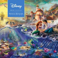 2021 Calendar TK Disney Dreams Collection Square Wall by Andrews McMeel AM55949