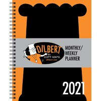 2021 Diary Dilbert Mthly/Wkly Desk Planner by Andrews McMeel AM57097