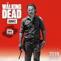 2019 Calendar AMC The Walking Dead Mini Calendar by Sellers Publishing