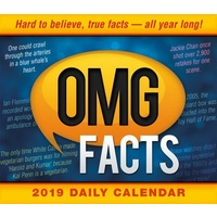 2019 Calendar OMG Facts Day-to-Day Boxed Desk Calendar by Sellers Publishing