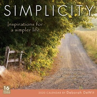 Simplicity 2020 16-Month Square Wall Calendar by Sellers SOLD OUT