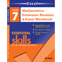 Excel Essential Skills: Mathematics Extension Revision & Exam Workbook Year 7