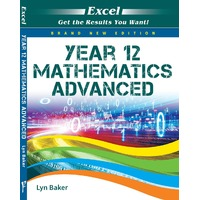 Excel Mathematics Advanced Study Guide Year 12 - Brand New Edition