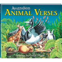 Australian Animal Verses by Colin Thiele, Paperback, Free Post