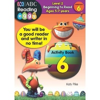 ABC Reading Eggs: Starting Out Activity Book 6 - Ages 5-7
