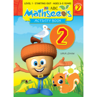 ABC Mathseeds - Activity Book 2 - Ages 3-5 by Sara Leman 9781742152134