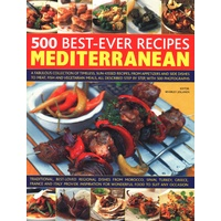 500 Best Ever Mediterranean Recipes