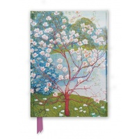 Magnolia Trees Foiled Journal by Flame Tree
