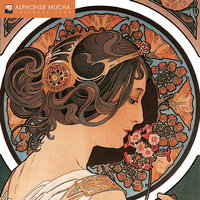 2020 Alphonse Mucha Square Wall Calendar by Flame Tree SOLD OUT