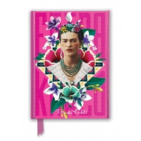 Frida Kahlo Pink Foiled Journal by Flame Tree