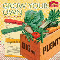IWM Grow Your Own 2020 Square Wall Calendar by Gifted Stationery