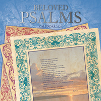 Beloved Psalms 2020 Square Wall Calendar by Gifted Stationery
