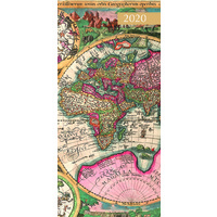 Antique Maps 2020 Pocket Diary by Gifted Stationery