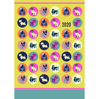 Dot the Dog 2020 A5 Padded Diary by Gifted Stationery