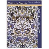 Jigsaw Puzzle 1000 Piece William Morris, Fine Art Collection, by Gifted Stationery