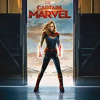 Captain Marvel Official 2020 Square Wall Calendar by Danilo