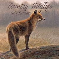 2021 Calendar Country Wildlife Square Wall By The Gifted Stationery GSC19892