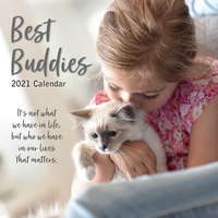 2021 Calendar Best Buddies Square Wall By The Gifted Stationery GSC20048