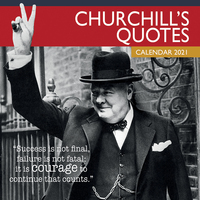 2021 Calendar Churchill's Quotes Square Wall By The Gifted Stationery GSC20106