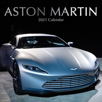 2021 Calendar Aston Martin Square Wall By The Gifted Stationery GSC20110